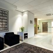 White Fox & Jones, Christchurch - White Fox ceiling, floor, flooring, interior design, lobby, office, real estate, gray