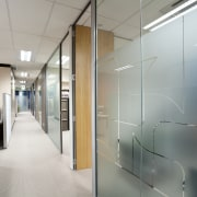 White Fox & Jones, Christchurch - White Fox ceiling, floor, glass, interior design, office, wall, gray