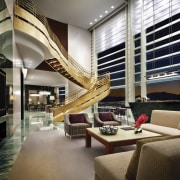 CityCenter, Las Vegas - CityCenter, Las Vegas - ceiling, interior design, living room, lobby, penthouse apartment, window, black, gray