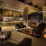 CityCenter, Las Vegas - CityCenter, Las Vegas - bar, café, interior design, restaurant, brown, black