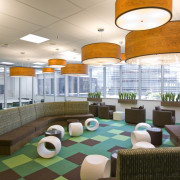 Standard Chartered Bank, Changi Business Park, Singapore ceiling, interior design, leisure, leisure centre, lobby, white