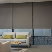 View of the office blinds by KWA Blinds architecture, curtain, door, furniture, glass, interior design, shade, sliding door, wall, wardrobe, window, window blind, window covering, window treatment, gray, black