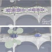 London Bridge Conceptual - London Bridge Conceptual - design, pattern, purple, gray, white