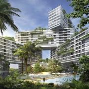 Interlace Conceptual - Interlace Conceptual - arecales | arecales, building, condominium, corporate headquarters, estate, metropolitan area, mixed use, palm tree, property, real estate