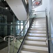 Ferrari Showroom in Australia - Ferrari Showroom in architecture, building, daylighting, glass, handrail, stairs, structure, gray