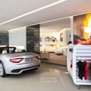 Ferrari Showroom - Ferrari Showroom - automotive design automotive design, automotive exterior, building, car, car dealership, luxury vehicle, motor vehicle, performance car, personal luxury car, sports car, vehicle, gray