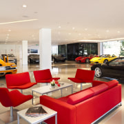 Ferrari Showroom - Ferrari Showroom - auto show auto show, automotive design, car, car dealership, interior design, luxury vehicle, motor vehicle, white