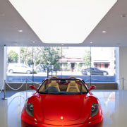 Ferrari Showroom in Australia - Ferrari Showroom in automotive design, car, ferrari f430, luxury vehicle, motor vehicle, performance car, red, sports car, vehicle, gray, white