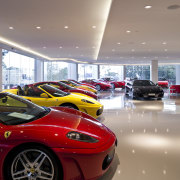 Ferrari Showroom in Australia - Ferrari Showroom in auto show, automotive design, car, ferrari f430, land vehicle, luxury vehicle, motor vehicle, performance car, race car, red, sports car, supercar, vehicle, gray
