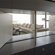 view of cabinetry - view of cabinetry - architecture, furniture, interior design, product design, gray, black