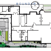 View of landscape architectural plans. - View of architecture, area, design, floor plan, neighbourhood, plan, residential area, urban design, white