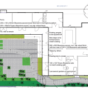 View of landscape architectural plans. - View of architecture, area, floor plan, land lot, line, map, neighbourhood, plan, residential area, suburb, urban design, white