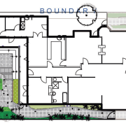 View of landscape architectural plans. - View of architecture, area, floor plan, plan, residential area, urban design, white