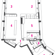 Architectural view of the plan - Architectural view area, design, diagram, drawing, floor plan, line, plan, product, product design, structure, white