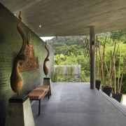 View of modern home designed by Design Unit architecture, house, interior design, wall, brown