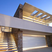 View of house with stone walls, walnut panelling architecture, building, daylighting, elevation, estate, facade, home, house, property, real estate, residential area, roof, gray