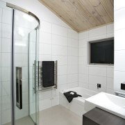 Interior view of this modern bathroom - Interior bathroom, ceiling, floor, interior design, product design, gray