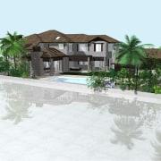 Start September - Start September - arecales | arecales, estate, home, house, palm tree, property, real estate, resort, swimming pool, white