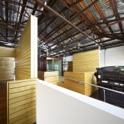 Interior view of office spaces at Light Space architecture, ceiling, interior design, wood, white