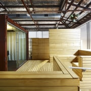 Interior view of office spaces at Light Space architecture, daylighting, interior design, wood