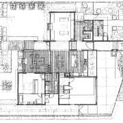 View of architectural floor plans. - View of architecture, area, artwork, design, diagram, drawing, floor plan, home, land lot, line, line art, plan, product design, residential area, sketch, structure, technical drawing, white