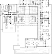 View of architectural plans. - View of architectural architecture, area, design, diagram, drawing, elevation, floor plan, font, line, plan, product design, schematic, technical drawing, text, white