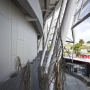 PBS Contracting supplied the Eden Park stadium facade architecture, building, facade, structure, gray, white