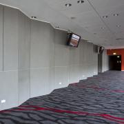 PBS Contracting supplied the Eden Park stadium facade architecture, ceiling, floor, flooring, interior design, wall, gray