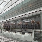 Specialist architectural glazing company Glass Projects supplied and airport terminal, architecture, building, daylighting, facade, glass, metropolitan area, gray