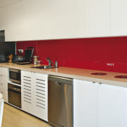 View of a kitchen which features the Sanispeed cabinetry, countertop, interior design, kitchen, product, product design, room, white