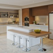 View of a kitchen designed by Suyin of cabinetry, countertop, cuisine classique, interior design, kitchen, gray, brown