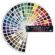 Image of colour options available from Resene Colourshop. circle, font, line, white