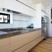View of a kitchen built by RH Cabinetry architecture, cabinetry, countertop, floor, interior design, kitchen, white