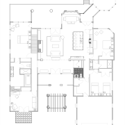 Floor plan of vacation home. - Floor plan architecture, area, black and white, design, diagram, drawing, elevation, floor plan, line, plan, product, product design, schematic, structure, white