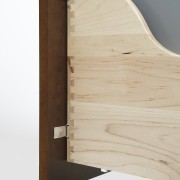 View of kitchen organisation products by Rev-A-Shelf, including angle, chest of drawers, drawer, furniture, plywood, product, product design, shelf, wood, white