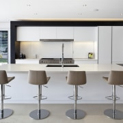 Kitchen designed by Leonie Von Sturmer of Von furniture, interior design, kitchen, product design, table, white