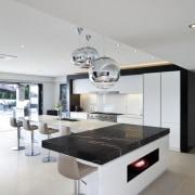 Kitchen designed by Leonie Von Sturmer of Von countertop, furniture, interior design, kitchen, product design, table, gray