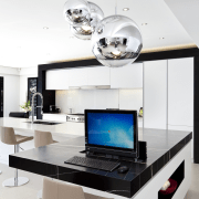 Kitchen designed by Leonie Von Sturmer of Von furniture, interior design, product design, white
