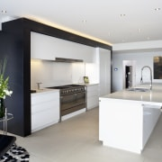 Kitchen designed by Leonie Von Sturmer of Von interior design, kitchen, white