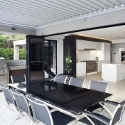 Kitchen designed by Leonie Von Sturmer of Von architecture, house, interior design, property, real estate, table, gray