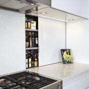 Kitchen designed by Leonie Von Sturmer of Von countertop, home appliance, interior design, kitchen, white
