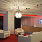 View of the reception area, colour was a ceiling, interior design, living room, lobby, room, brown, orange