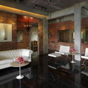 This house was designed by Dr Tan Loke ceiling, interior design, living room, lobby, real estate, room, black