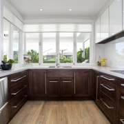Designer Scarlet Architects. Traditional. Solid oak frame doors cabinetry, countertop, cuisine classique, interior design, kitchen, real estate, room, white