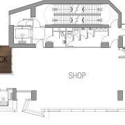 25 level retail outlet on Hong-Kong island. Theme angle, architecture, area, design, diagram, drawing, elevation, facade, floor plan, font, furniture, home, house, line, plan, product, product design, schematic, structure, technical drawing, text, white