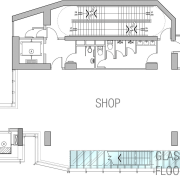 25 level retail outlet on Hong-Kong island. Theme angle, architecture, area, design, diagram, drawing, elevation, floor plan, font, home, house, line, plan, product, product design, property, schematic, structure, text, white