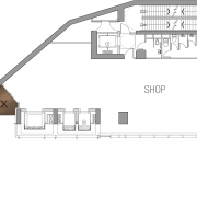 25 level retail outlet on Hong-Kong island. Theme angle, architecture, area, design, diagram, elevation, floor plan, home, house, line, plan, product design, property, structure, white