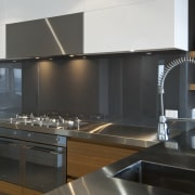 Kitchen designed by Irene James of James Trent cabinetry, countertop, cuisine classique, interior design, kitchen, black