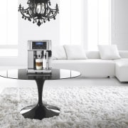 Delongi Coffee Machine - Delongi Coffee Machine - angle, coffee table, couch, furniture, interior design, living room, product design, table, white