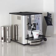 Nero Italia Coffee Maker- Espresso Leonardo - Nero coffeemaker, espresso machine, home appliance, kitchen appliance, product, product design, small appliance, white, gray